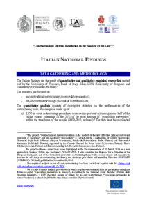 Italian National Findings